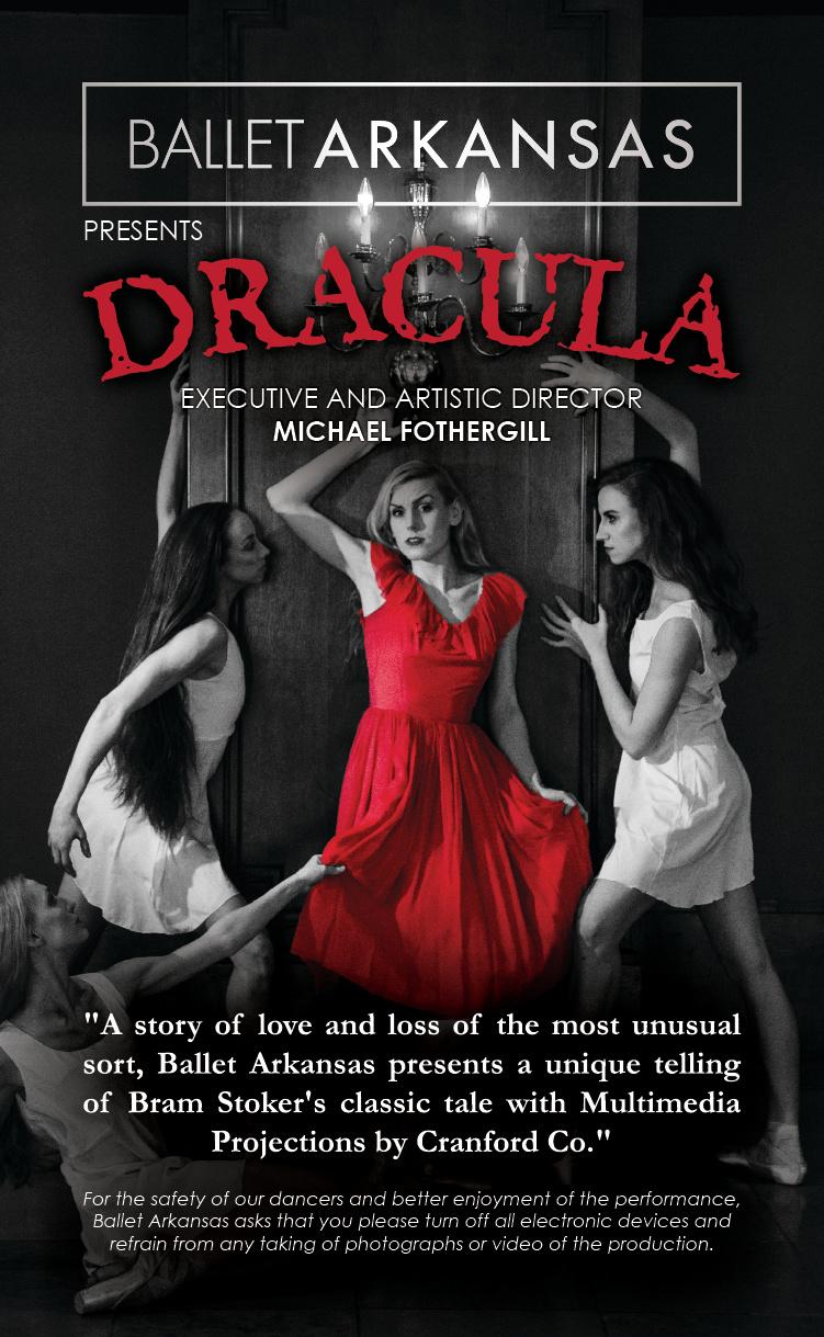 Dracula Playbill Insert