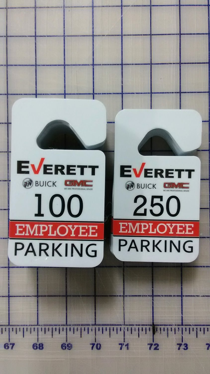 Everett Employee Parking Pass