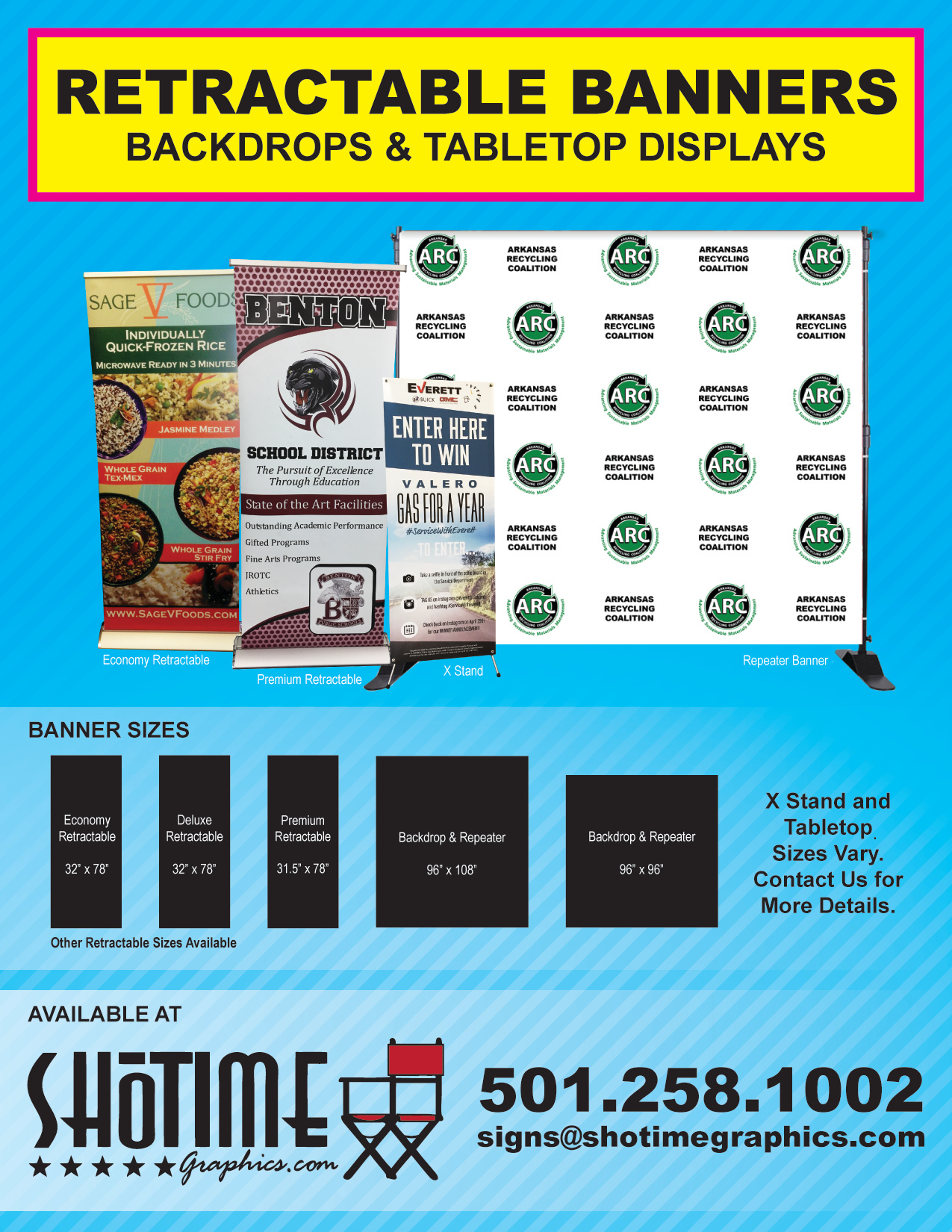 Retractable Banner Ad