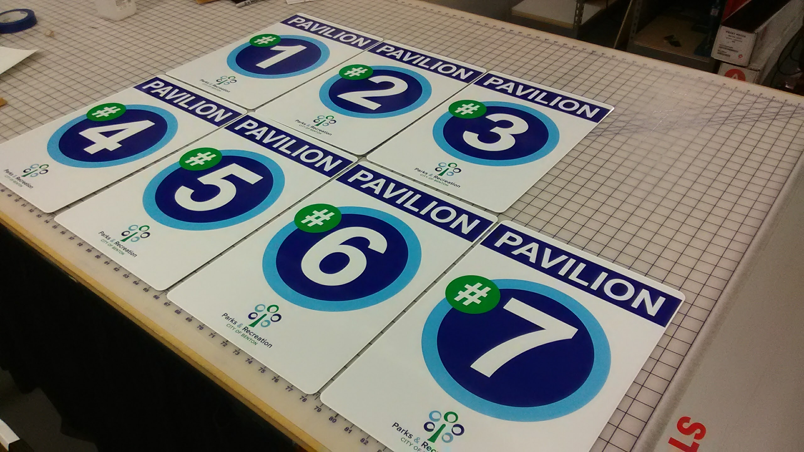 Pavilion Signs File