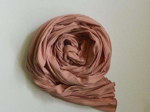 Ribbed Jersey Blush