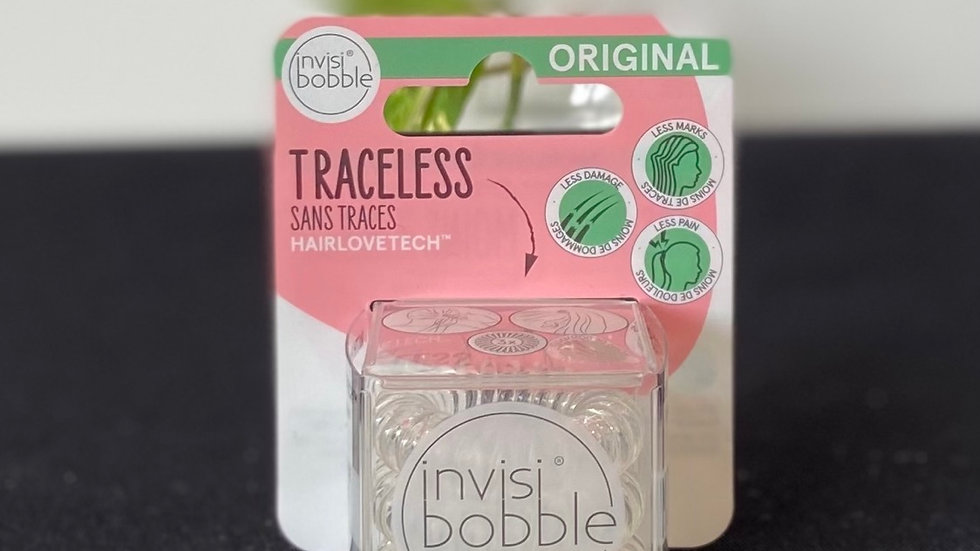 Invisibobble - Clear (3/pack)