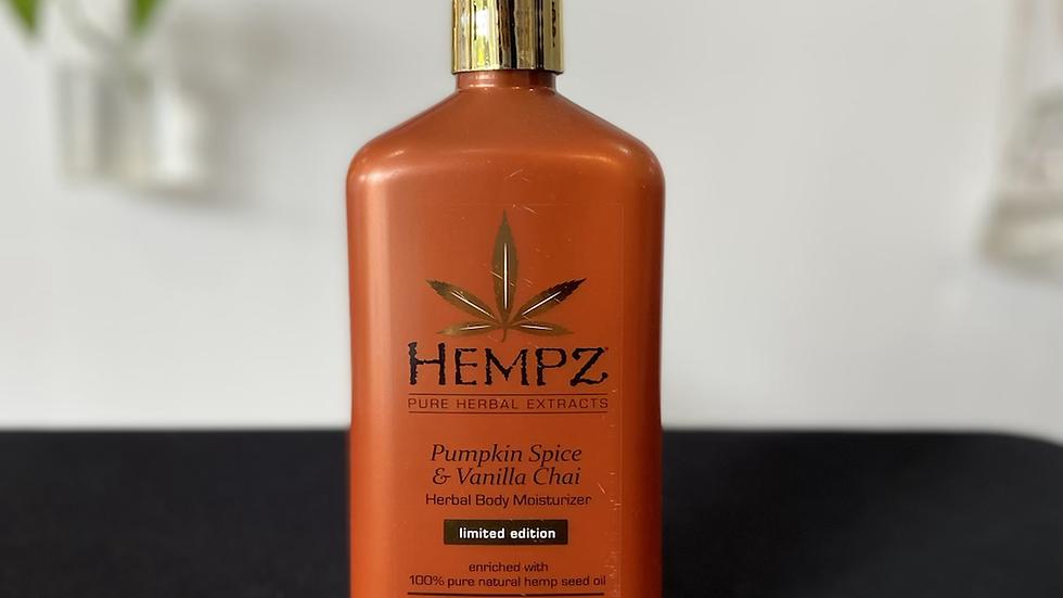 Hempz Lotion - Pumpkin Spice & Vanilla Chai