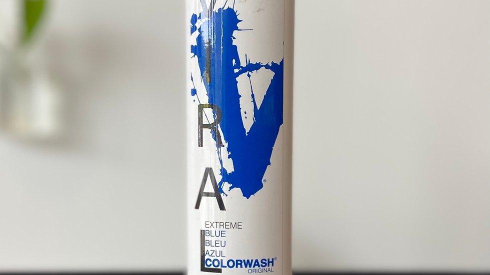 Viral Hair Colorwash Shampoo - Extreme Blue