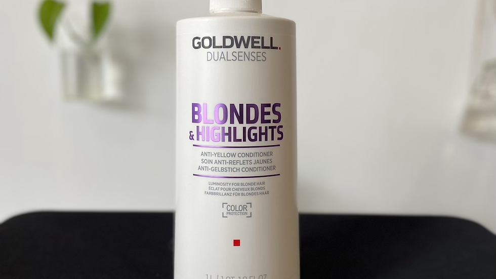 Goldwell Blondes & Highlights Anti-Yellow Conditioner - 1L