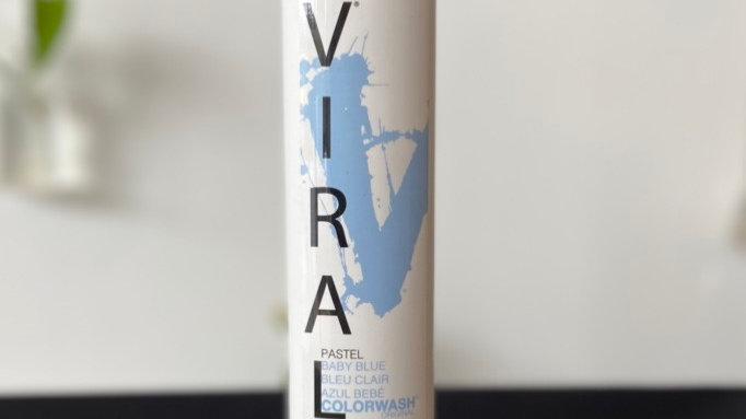 Viral Hair Colorwash Shampoo - Pastel Baby Blue