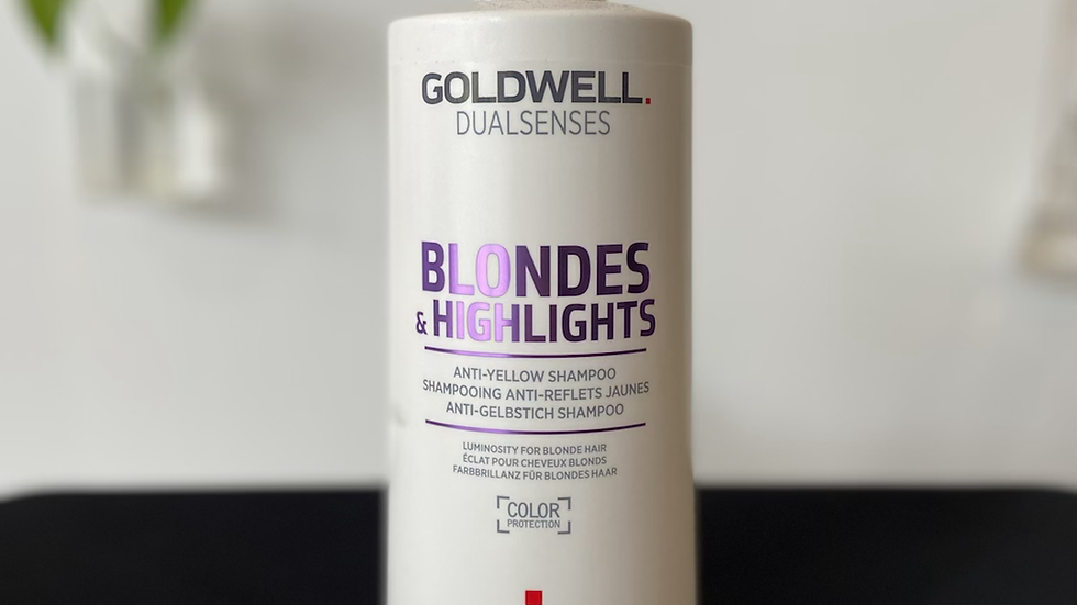 Goldwell Blondes & Highlights Anti-Yellow Shampoo - 1L