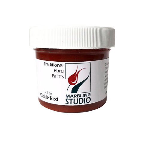 Traditional Ebru Paint -Oxide Red