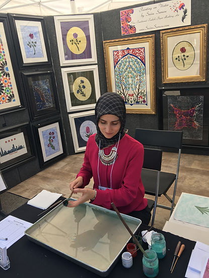 Ebru artist, Marbling artist