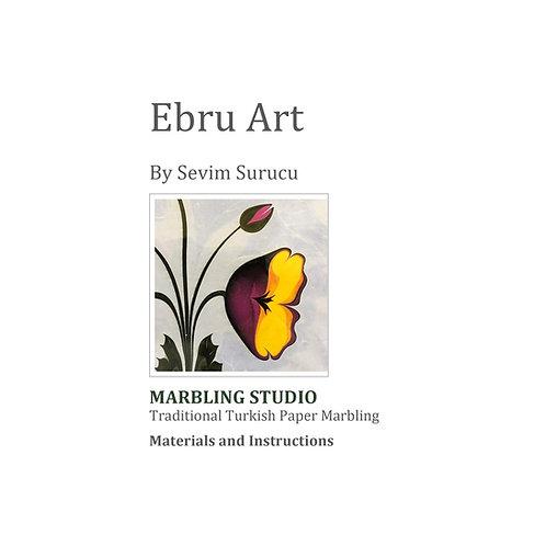 Ebru Art Instruction Booklet