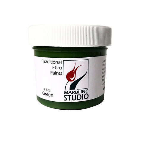 Traditional Ebru Paint -Green