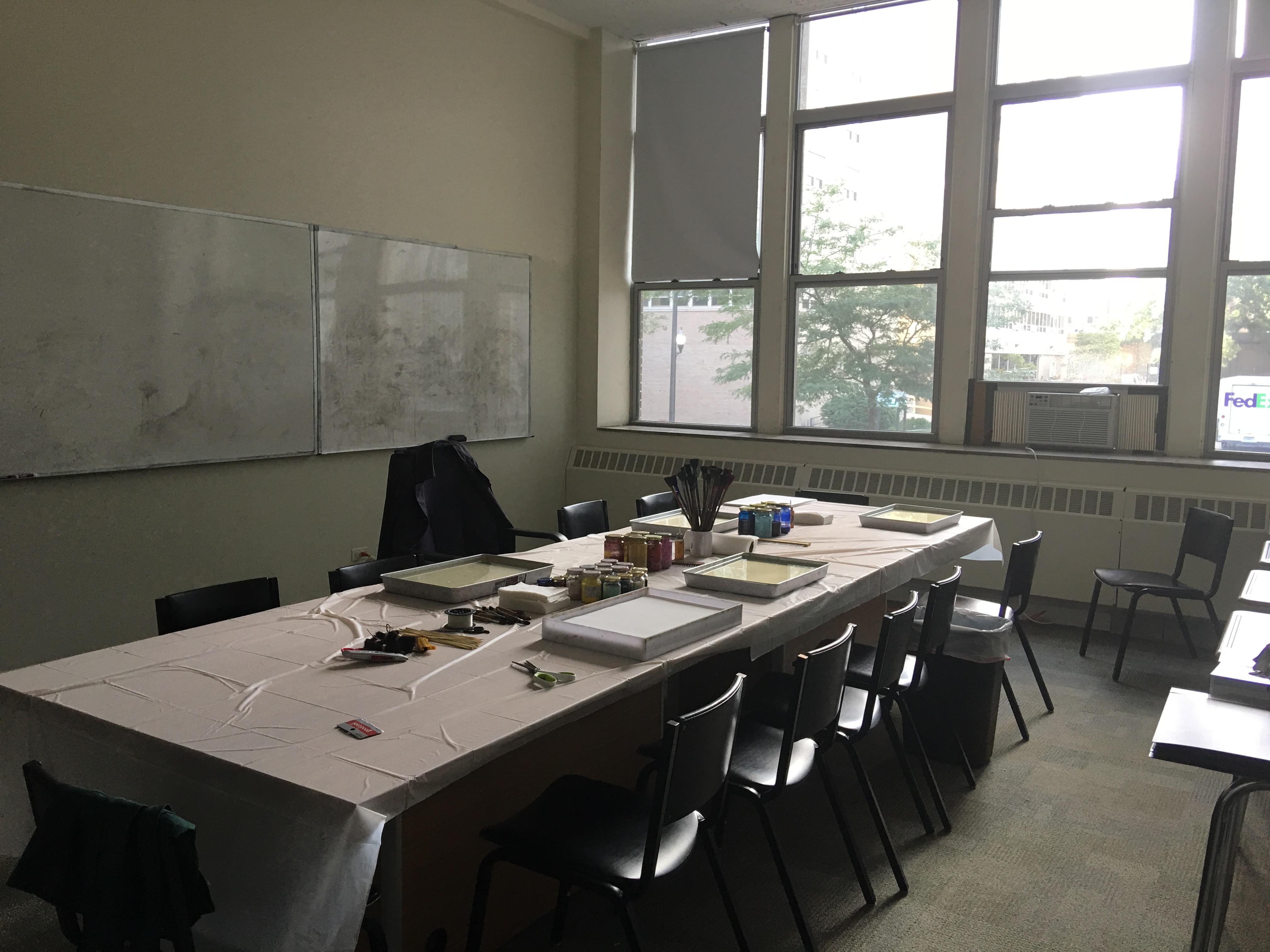 ebru workshop preparation