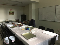 ebru workshop preparation