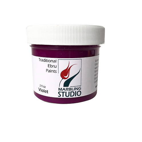Traditional Ebru Paint -Violet