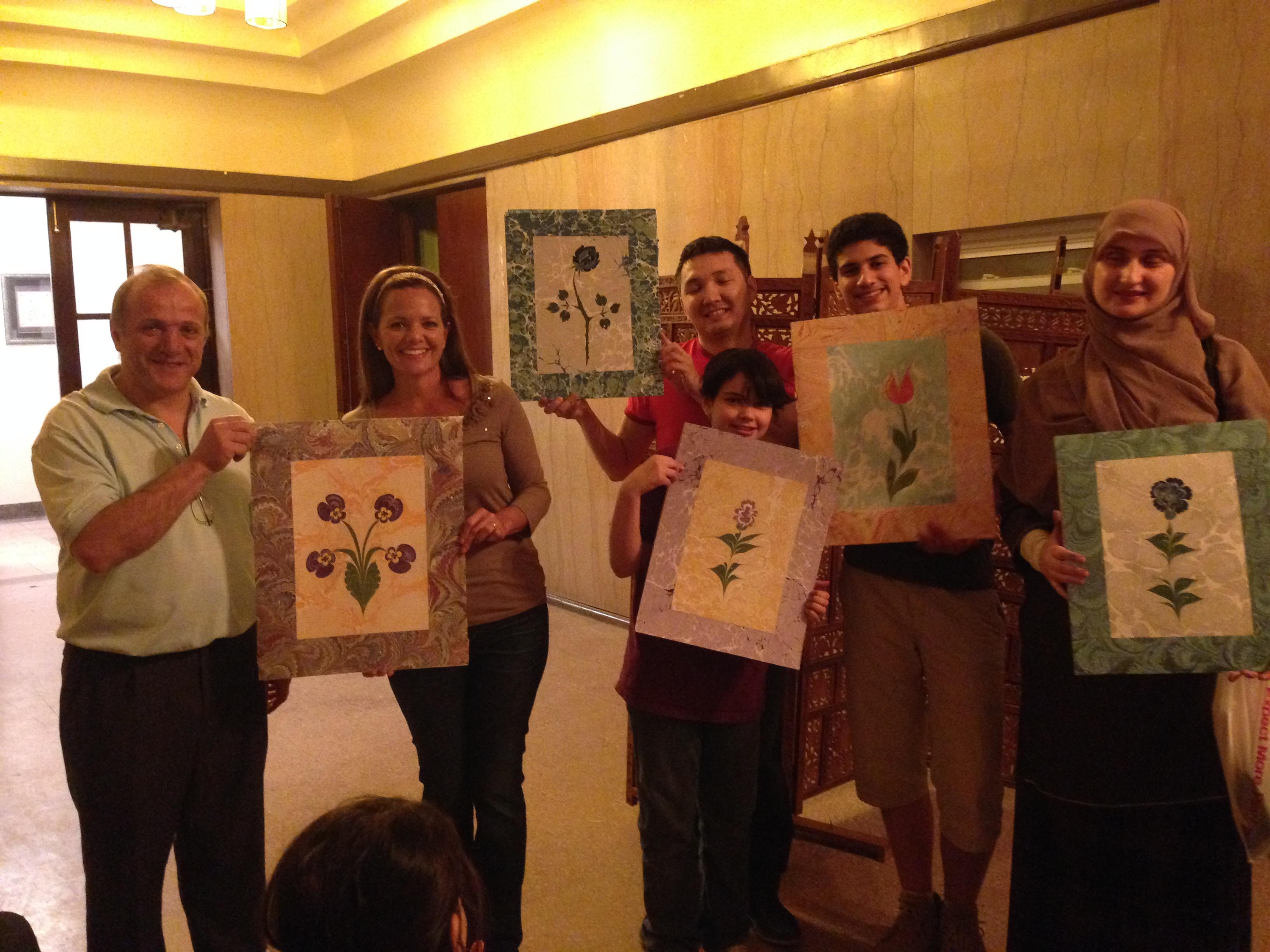 murakka art works ebru students