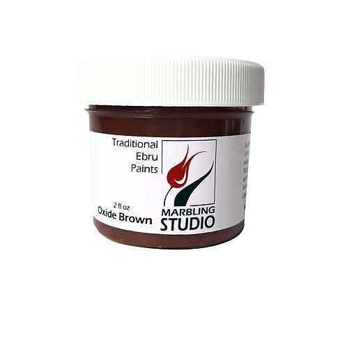 Traditional Ebru Paint -Oxide Brown