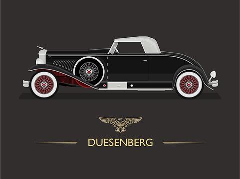 Duesenberg_Car_Illustration_Dan_Kindley