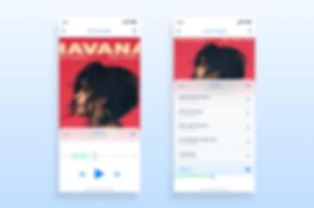 Music App - User Interface Deign