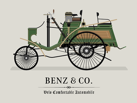 Benz_velo_Comfortable_illustration_dan_kindley_mercedes_benz_car_illustration