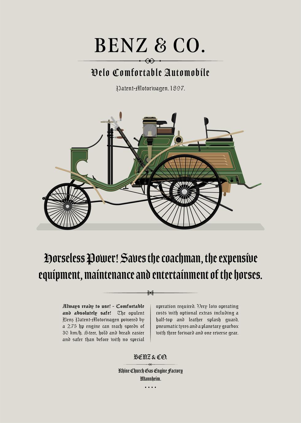 1897 Benz - Velo Comfortable