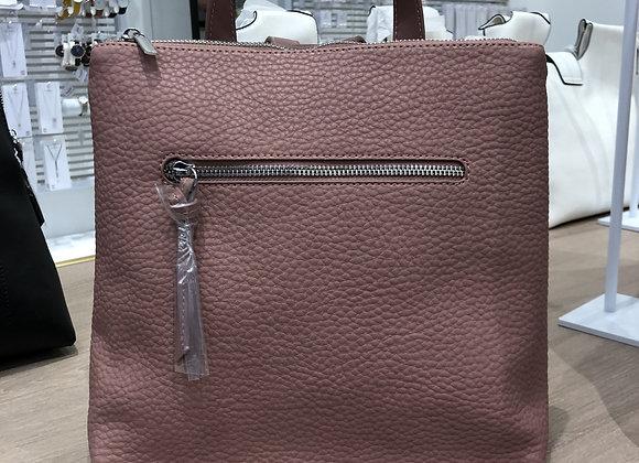 BIZOU - sac à mains avec courroie convertible rose