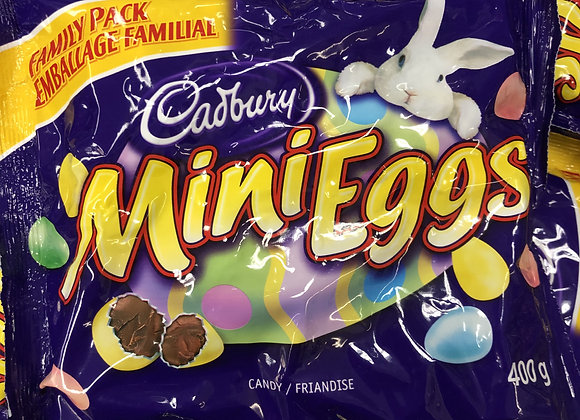 Sac de mini eggs Cadbury 400g