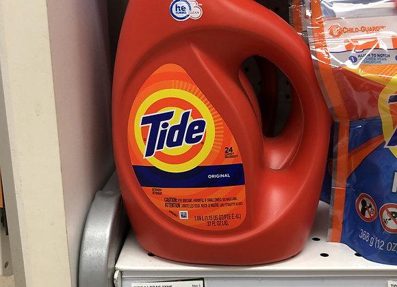 Tide savon à linge 1.09L (24 brassées)