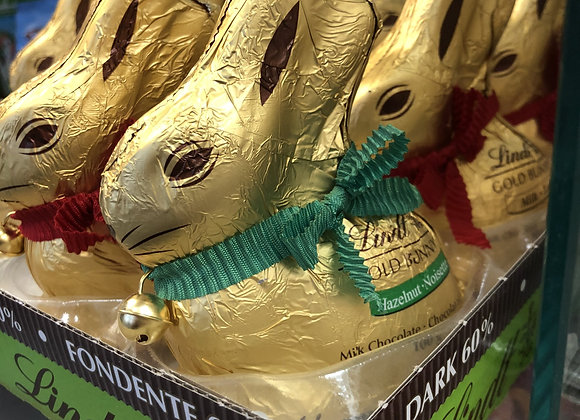 Lapin en chocolat Lindt 100g