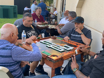 Domino Tournament with Maya Selva Cigars