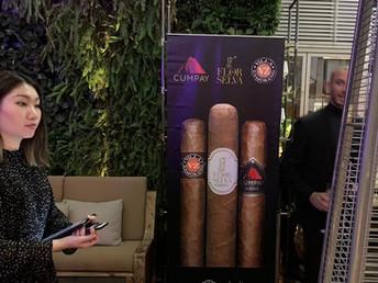 Maya Selva Cigars tasting at Ichu Terraza - Hong Kong