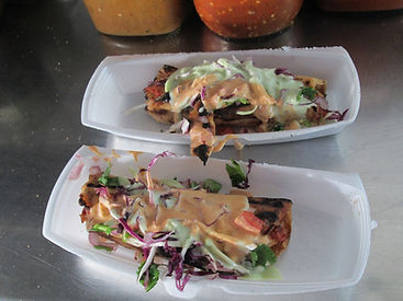 Tijuana Street Food Tour Grilled Marlin Tacos