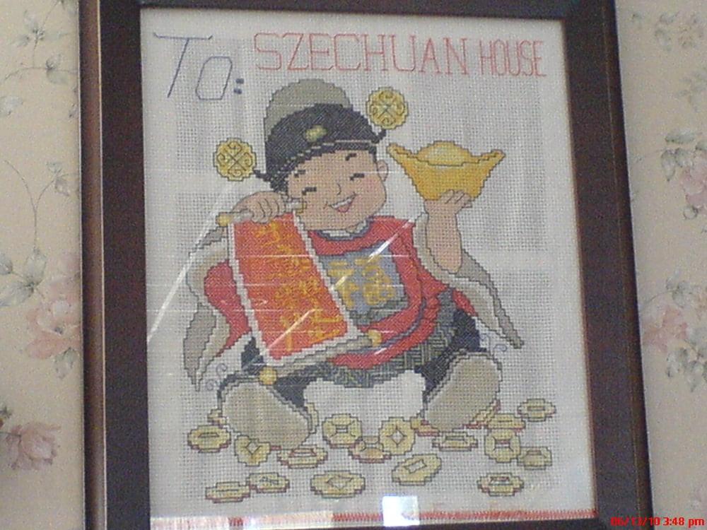 Szechuan House well wishes