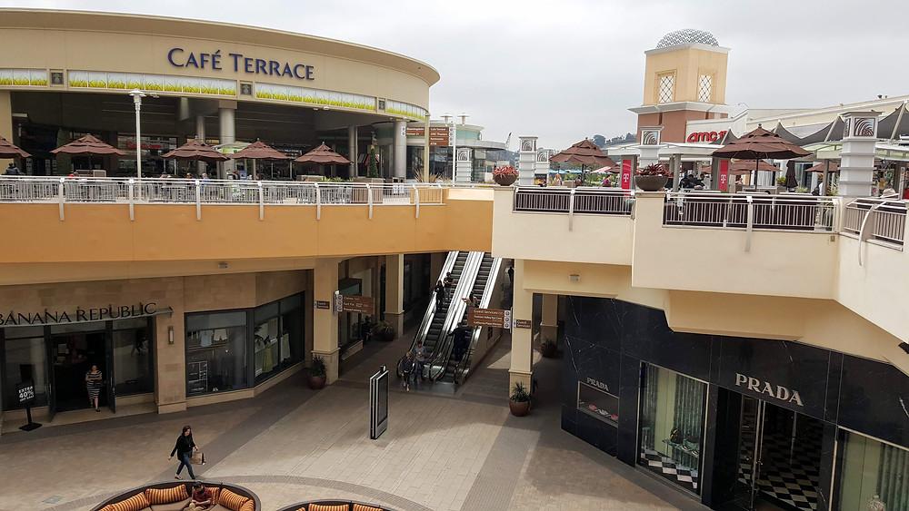 Fashion Valley Mall in San Diego.