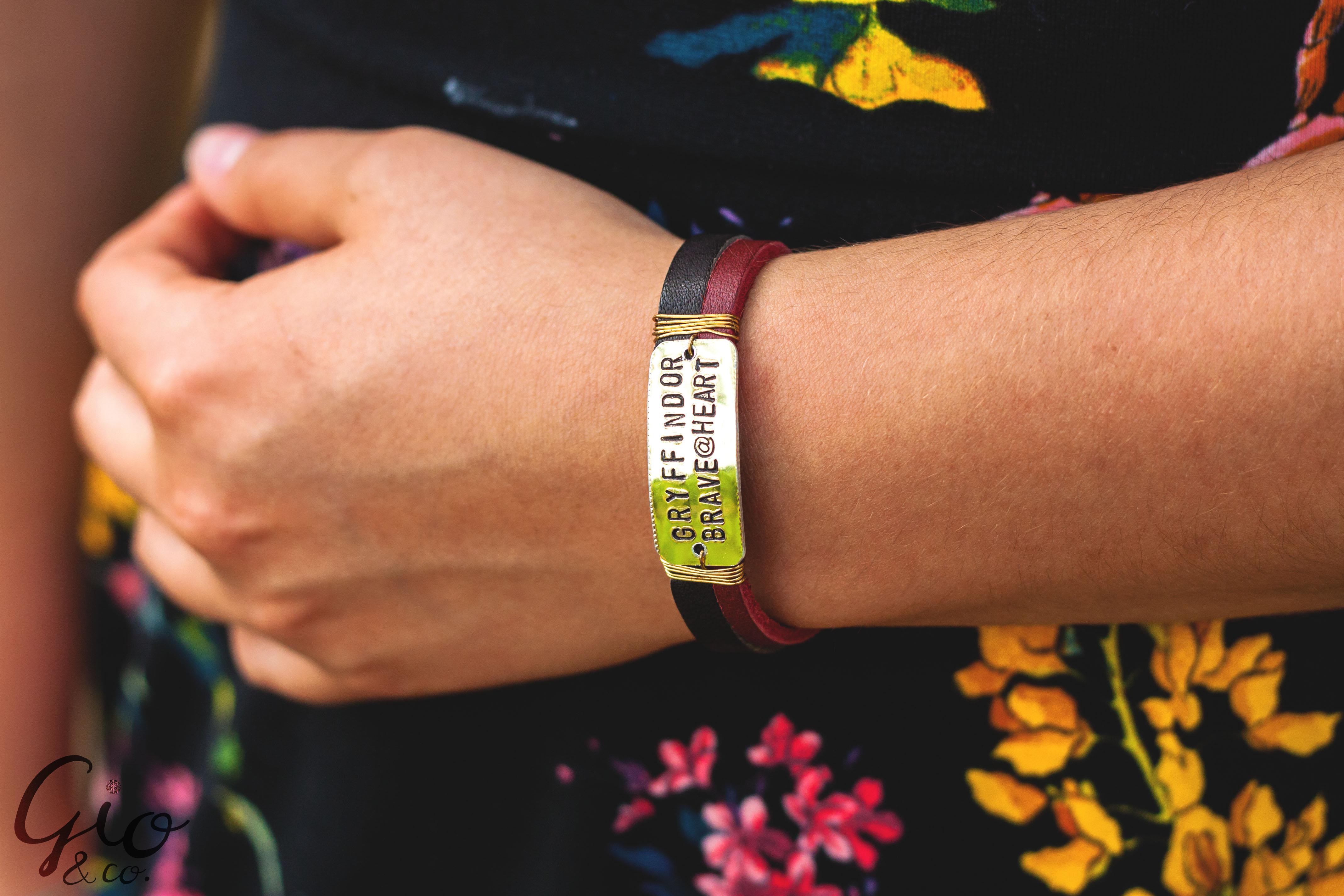 Custom Stamped Bracelets