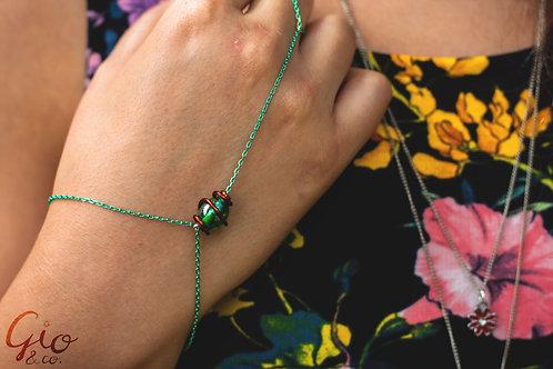 Nature-themed Ring Bracelet