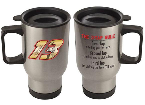 """TC#13 - """"3-Tap"""" Travel Mug"""
