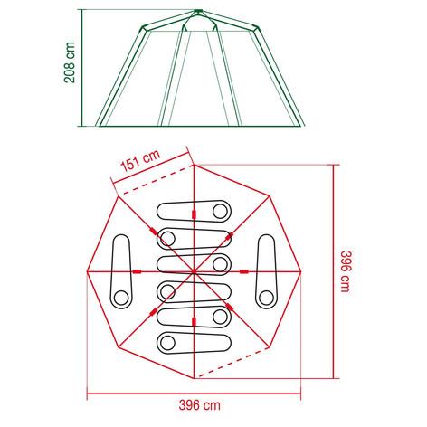 Schita dimensiuni cort Cortes 8