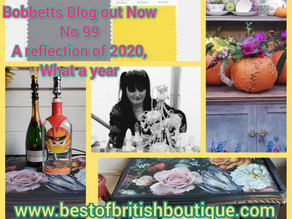 Bobbett's Blog No 99, a reflection of 2020, What a year!
