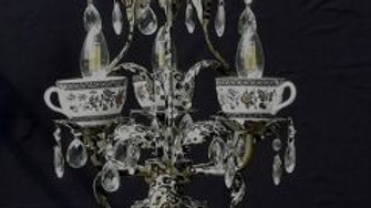 Leopard print chandelier
