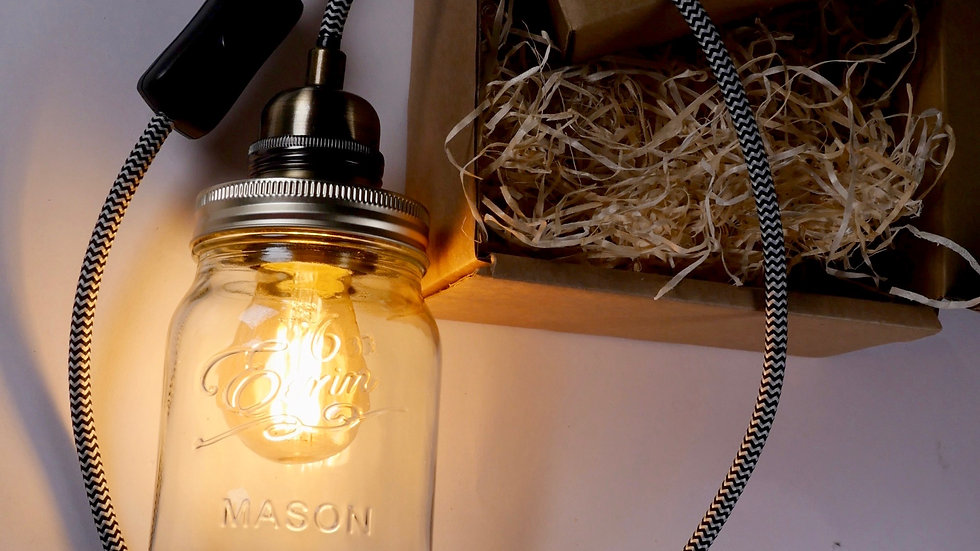 'Jam Jar Lamp Kit'