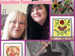 Bobbett's Blog week 80, Competition paints and prints