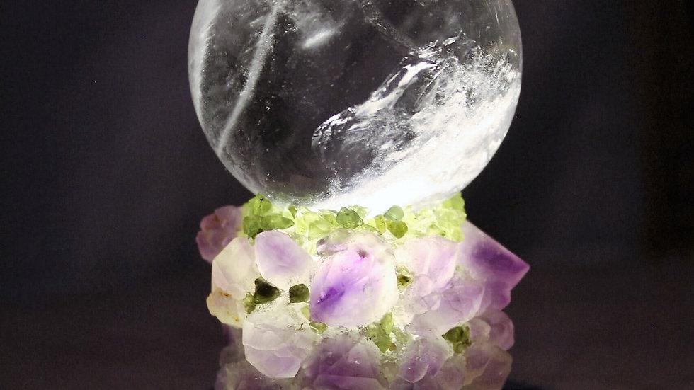 Crystal Orb  Medium Light Large