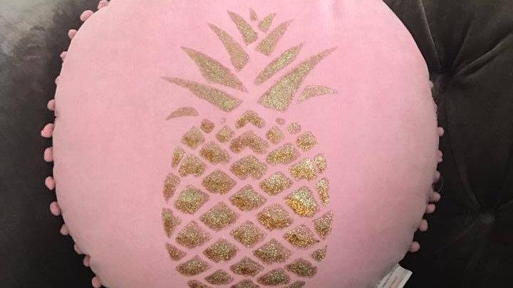Pinapple plush cushion