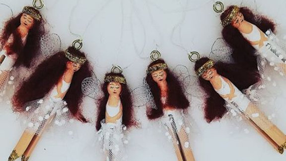 fairy wooden Christmas Decoration