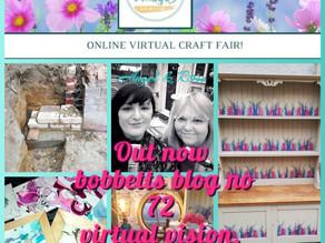 Week 72 Bobbetts Blog, Virtual vision.