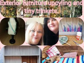 Bobbett's blog No 71 Exterior Furniture up cycling and Tiny Trinkets.