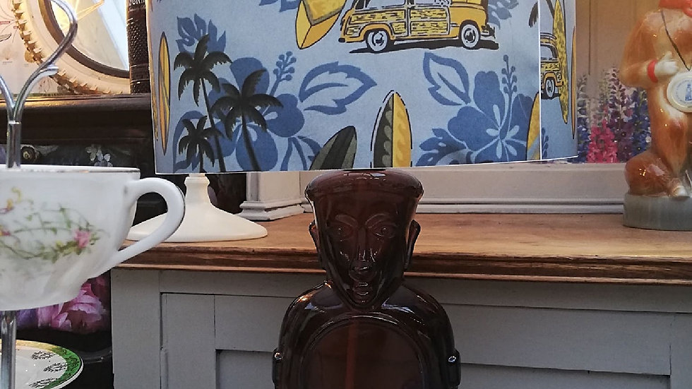 Tiki bottle lamp and shade ltd edtion
