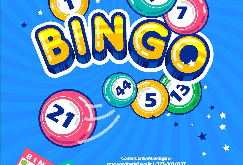 AYA-Bingo Night