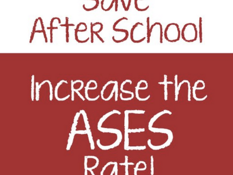 Continue the Fight to Save After School The Governor's May Revise Budget is Leaving us Out