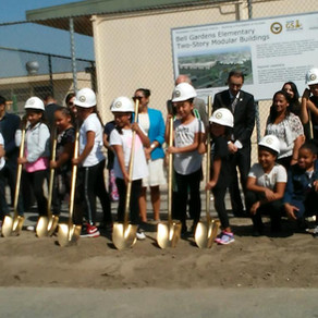 Bell Gardens Elementary School Groundbreaking Ceremony
